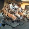 节日活动展览电动老虎模型商超庆典仿真老虎模型