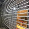专业铝合金折叠门定做豪华水晶门中空铝合金电动门定做